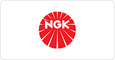 The NGK logo.