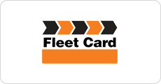 The Fleet Card logo.