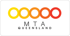 The MTA Queensland logo